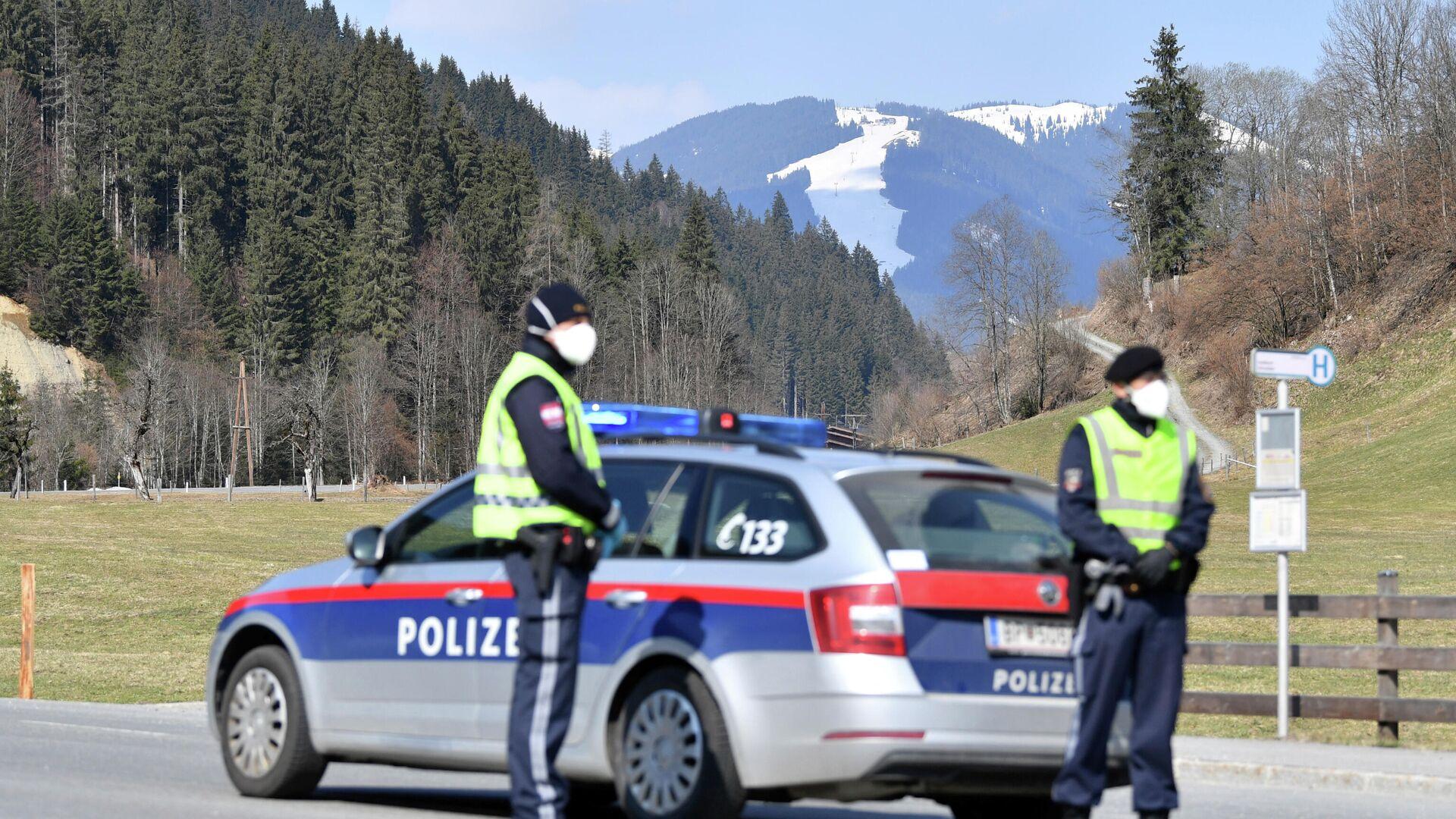 Австрийские полицейские в провинции Зальцбург - РИА Новости, 1920, 30.01.2021