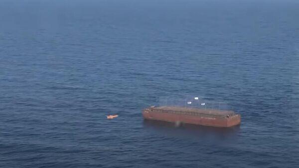 Испытания угрожающей мосту в Крым украинской ракеты сняли на видео