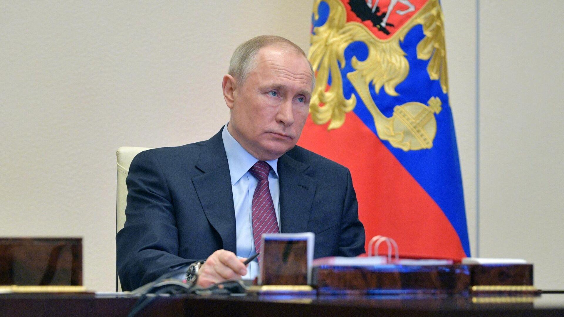 Президент Владимир Путин - РИА Новости, 1920, 06.11.2020