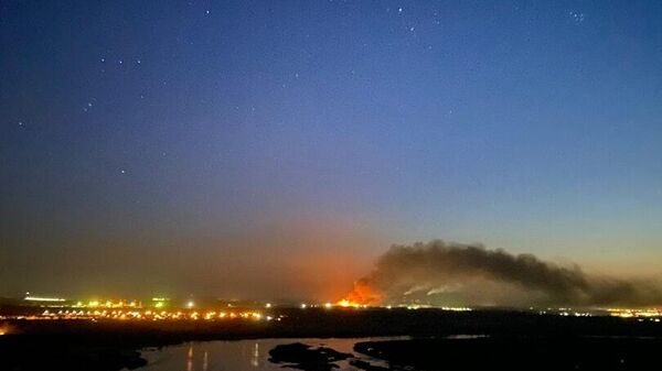 Пожар в ИК-15 в Ангарске, Иркутская область