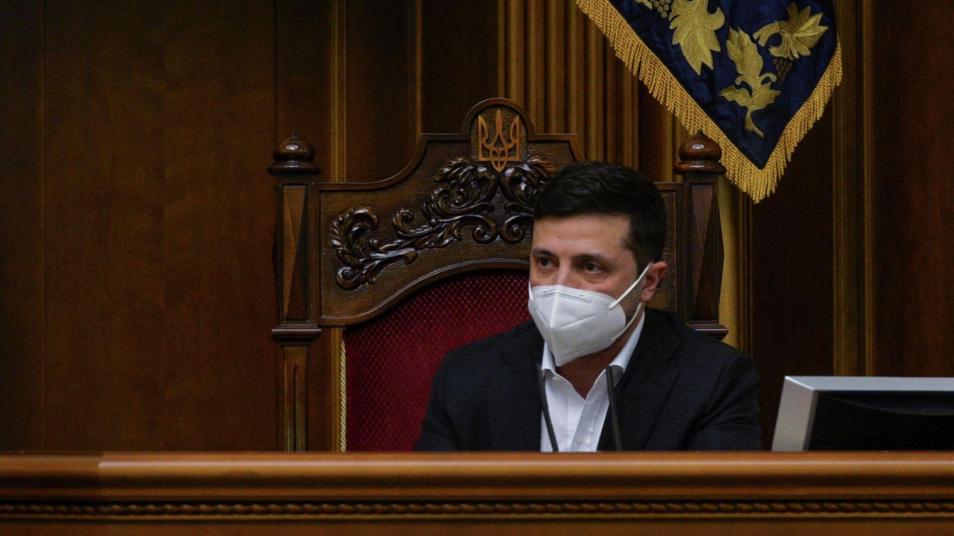 Президент Украины Владимир Зеленский - РИА Новости, 1920, 28.04.2020