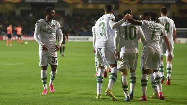 Футболисты португальского Спортинга