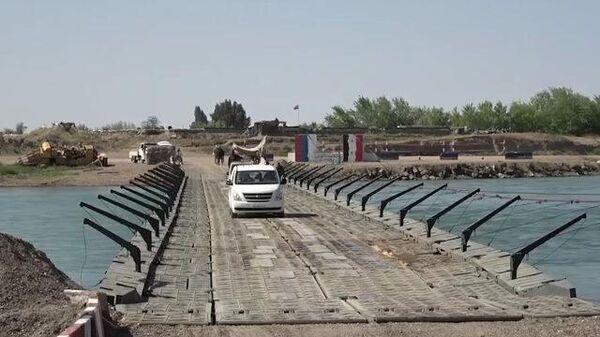 Русский мост через Евфрат наладил сообщение близ сирийского Дейр-эз-Зора