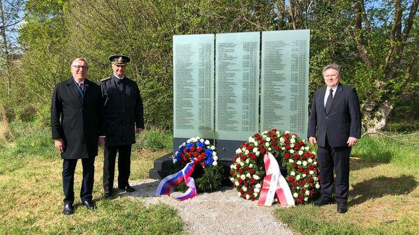 Посол России и мэр Вены почтили память советских военнопленных в Австрии