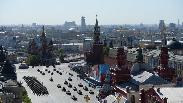 Военный парад, посвященный годовщине Победы в Великой Отечественной войне