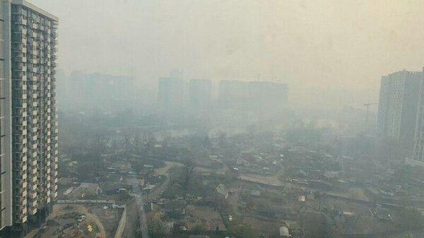 Дым в Киеве