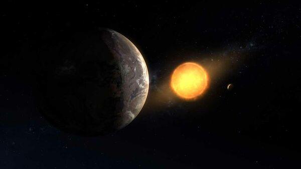 Экзопланета Kepler-1649c. Концепт