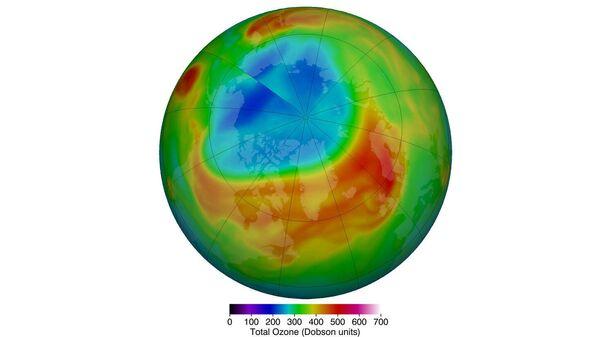 Истощение озонового слоя над Арктикой