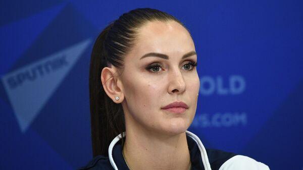 Игрок женского волейбольного клуба Динамо (Москва) Наталья Гончарова