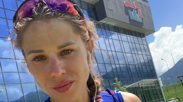 Российская конькобежка Елена Сохрякова