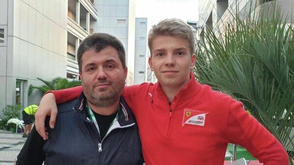 Михаил Шварцман и его сын Роберт Шварцман