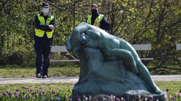 Полицейские в Польше