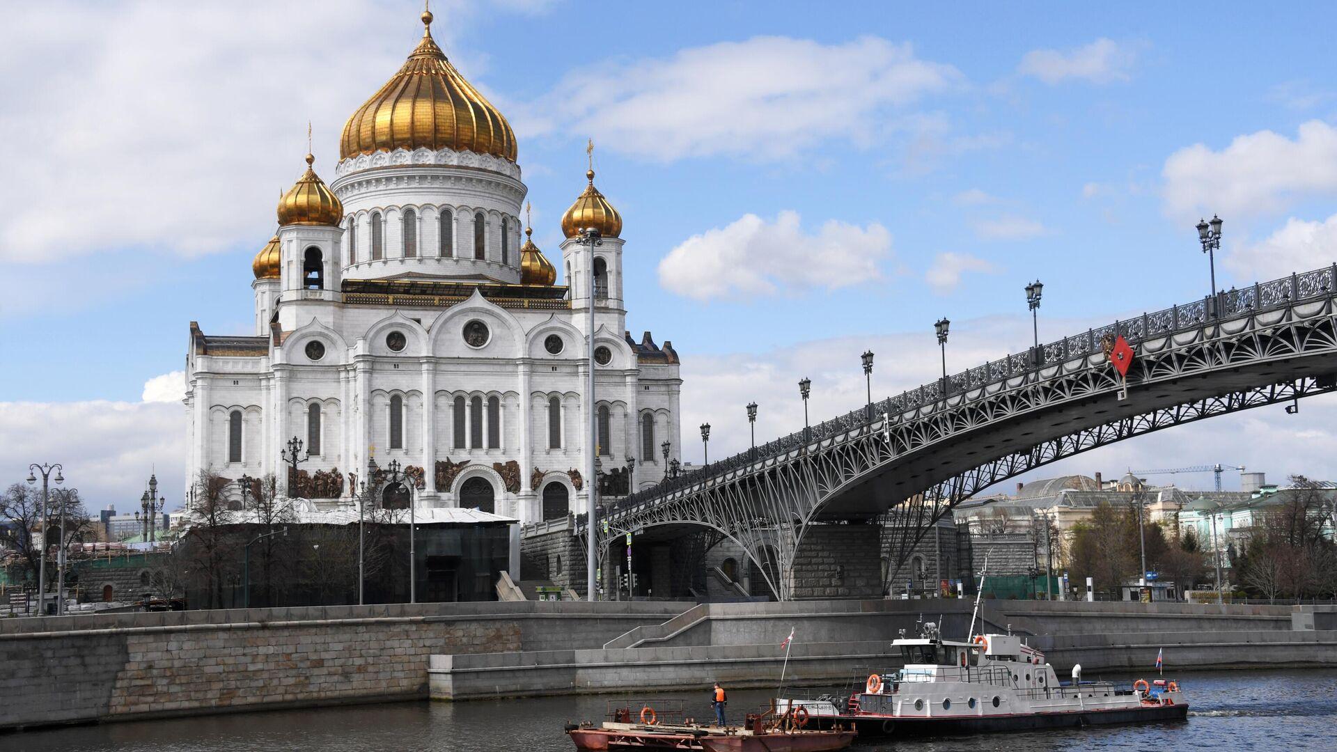 Открытие речной навигации в Москве - РИА Новости, 1920, 12.06.2021