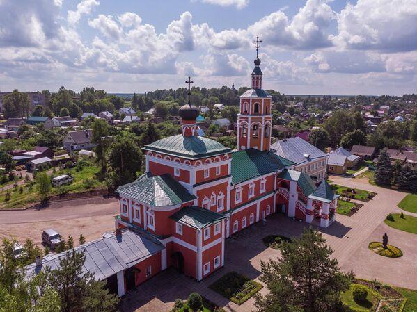 Вязьма, монастырь Иоанна Крестителя
