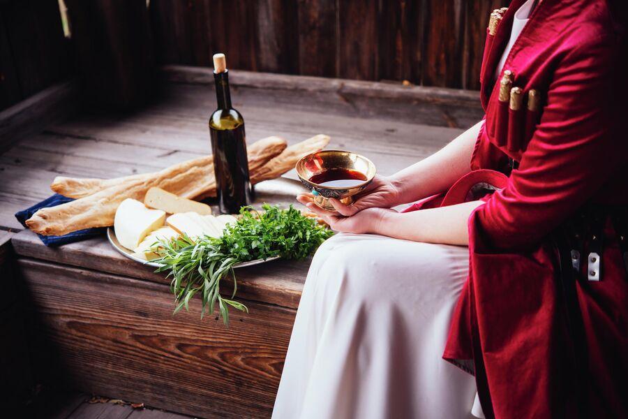 Блюда традиционной грузинской кухни