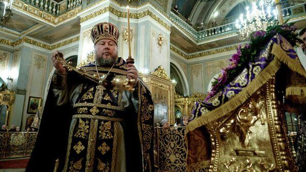 Настоятель Богоявленского кафедрального собора в Елохове города Москвы Александр Агейкин
