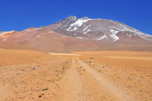 Вулкан Льюльяйльяко, Чили