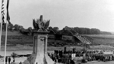 25 апреля 1945 года. Недалеко от города Торгау на реке Эльба войска Красной армии 1-го Украинского фронта встретились с войсками 1-й армии США.
