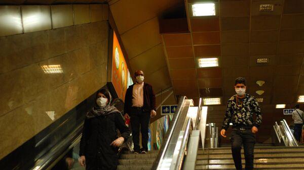 Ситуация в тегеранском метрополитене в условиях коронавируса