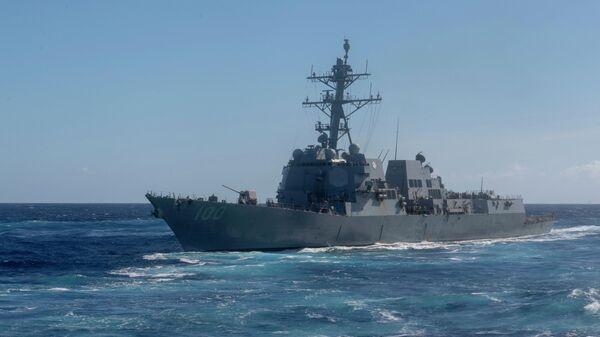 Ракетный эсминец ВМС США USS Kidd