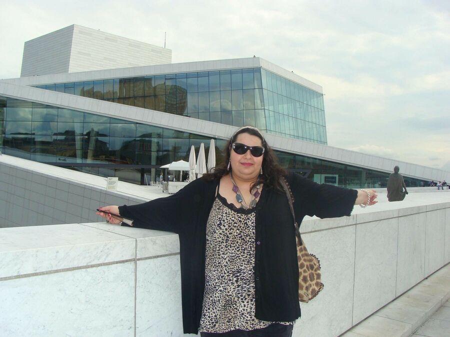 Осло. Площадь перед Оперным Театром