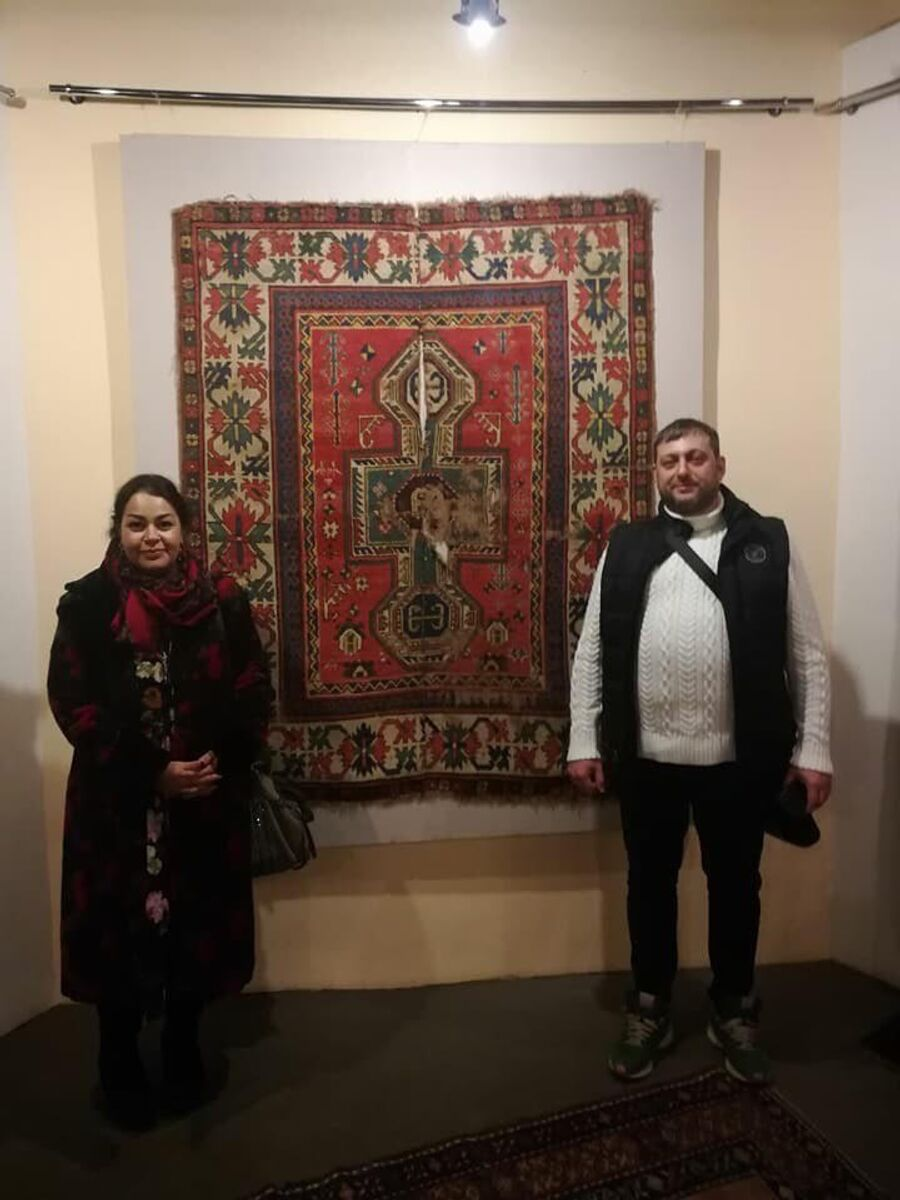 Армения. Музей армянского ковра на фабрике