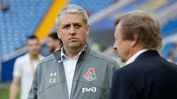 Начальник команды Локомотив Станислав Сухина