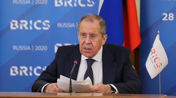 """Лавров считает, что проект """"Северный поток — 2"""" не будет остановлен"""