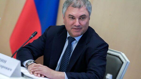 Володин сообщил о работе над новыми решениями по поддержке бизнеса