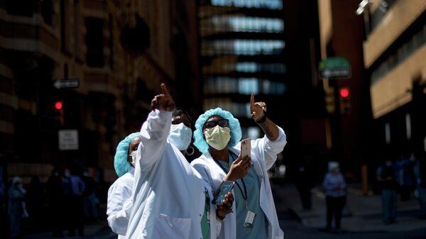 Медицинские работники в Филадельфии