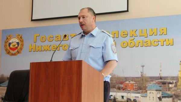 Начальник УГИБДД ГУ МВД России по Нижегородской области Павел Ржевский