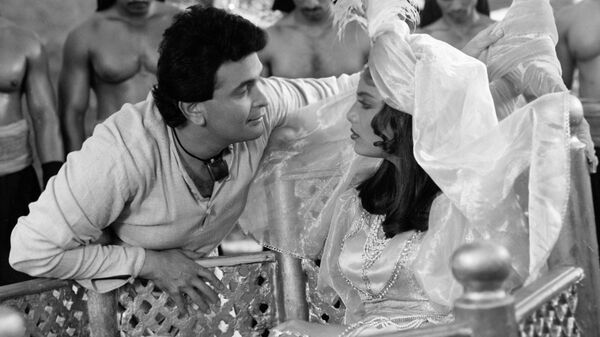 Риши Капур в советско-индийском  художественном фильме Черный принц Аджуба