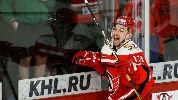 Игрок ХК Автомобилист Ефим Гуркин