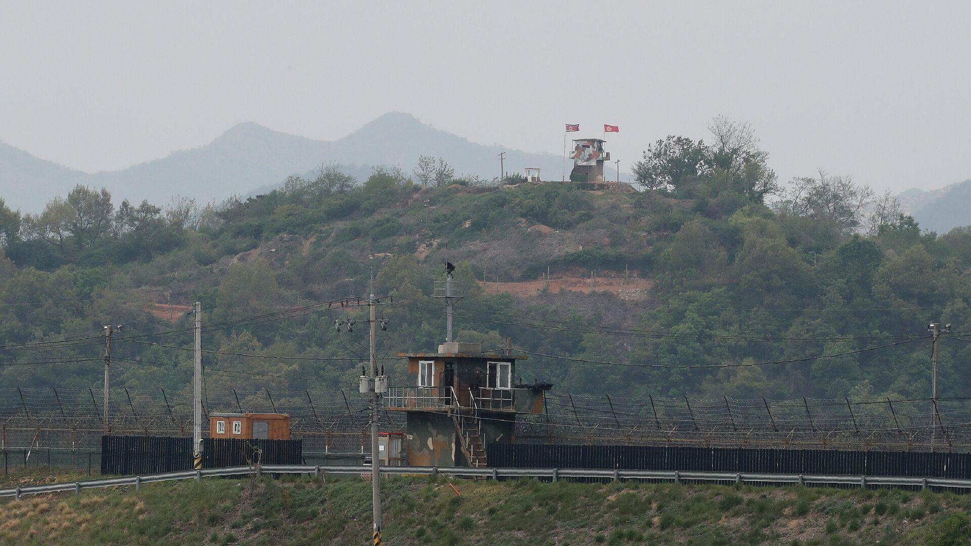 Ситуация на границе Северной и Южной Кореи - РИА Новости, 1920, 09.01.2021