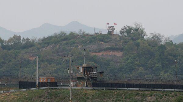 Ситуация на границе Северной и Южной Кореи