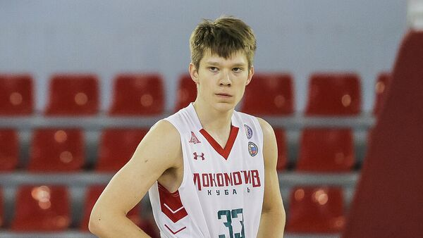 Баскетболист Локомотива-Кубани Захар Ведищев