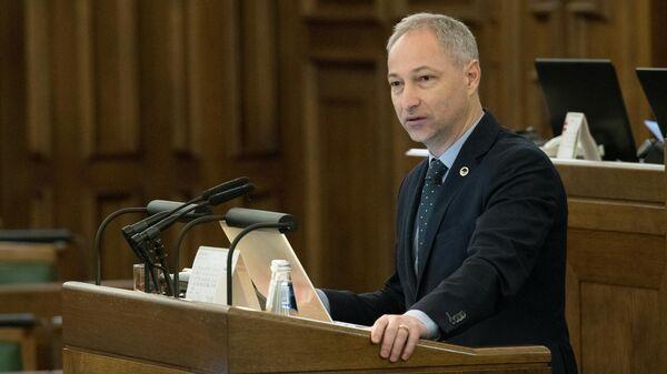 Министр юстиции Латвии Янис Борданс