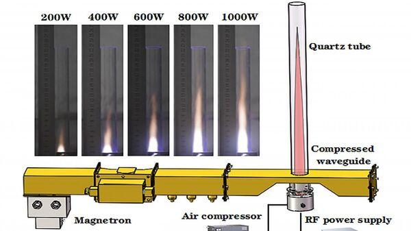 Китайские ученые создали прототип реактивного двигателя на воздухе