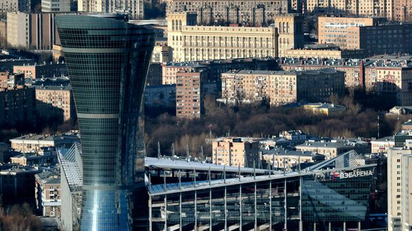 Вид на здание стадиона ВЭБ Арена