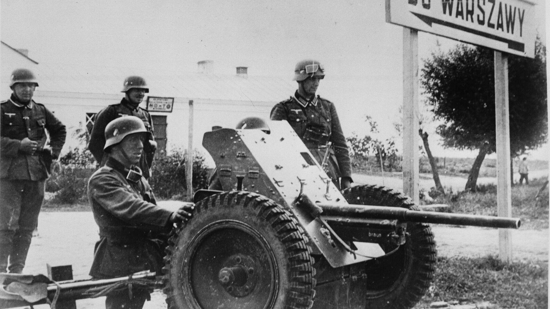 Вторжение немецкой армии в Польшу - РИА Новости, 1920, 17.12.2020