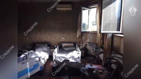 Кадры задержания организатора хосписа, где при пожаре погибли люди