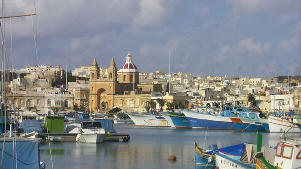 Деревня Марсашлокк на Мальте