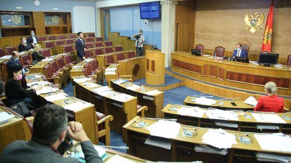 Весенняя сессия заседания Парламента Черногории