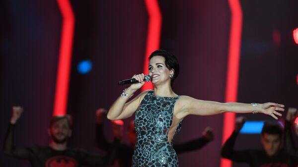 Певица Слава на концерте Песня года в Москве
