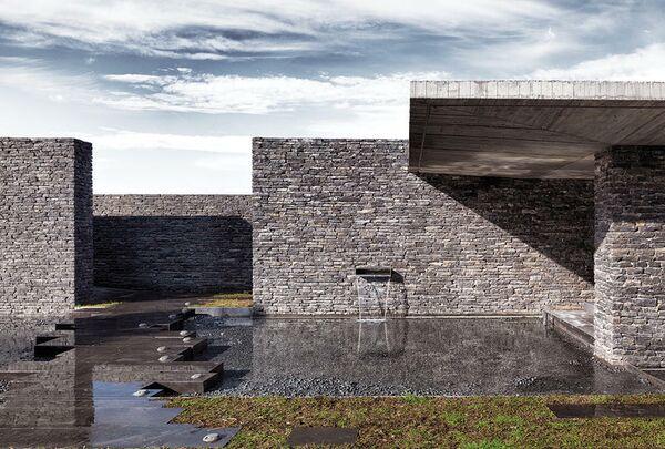 Мечеть Санчаклар. Стамбул, Турция. EAA – Emre Arolat Architectur, номинация Sacred Landscape