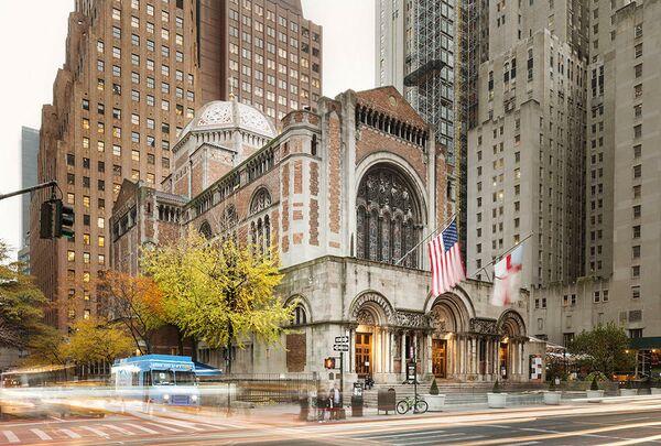 Купол епископальной церкви Святого Варфоломея. Нью-Йорк, США. Acheson Doyle Partners Architects, PC, номинация Restoration