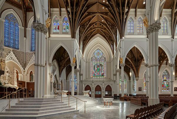 Собор Святого Креста. Бостон, США. Elkus Manfredi Architects, номинация Renovation