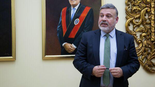 Новый чрезвычайный и полномочный посол Перу в Российской Федерации Хуан Хенаро Дель Кампо Родригес