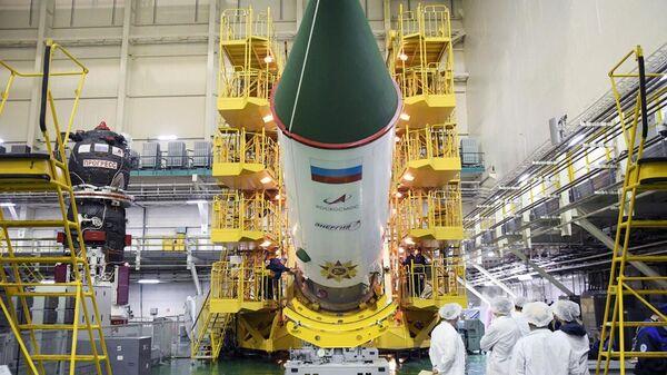 Космический корабль Прогресс МС-14