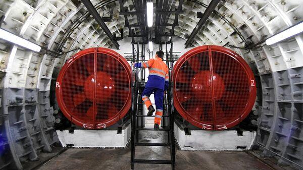 Система вентиляции в московском метро